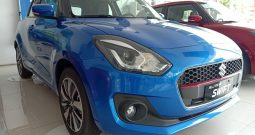 Suzuki New Swift màu xanh
